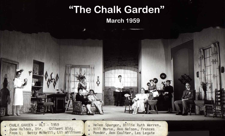 Chalk Garden Cast Photo