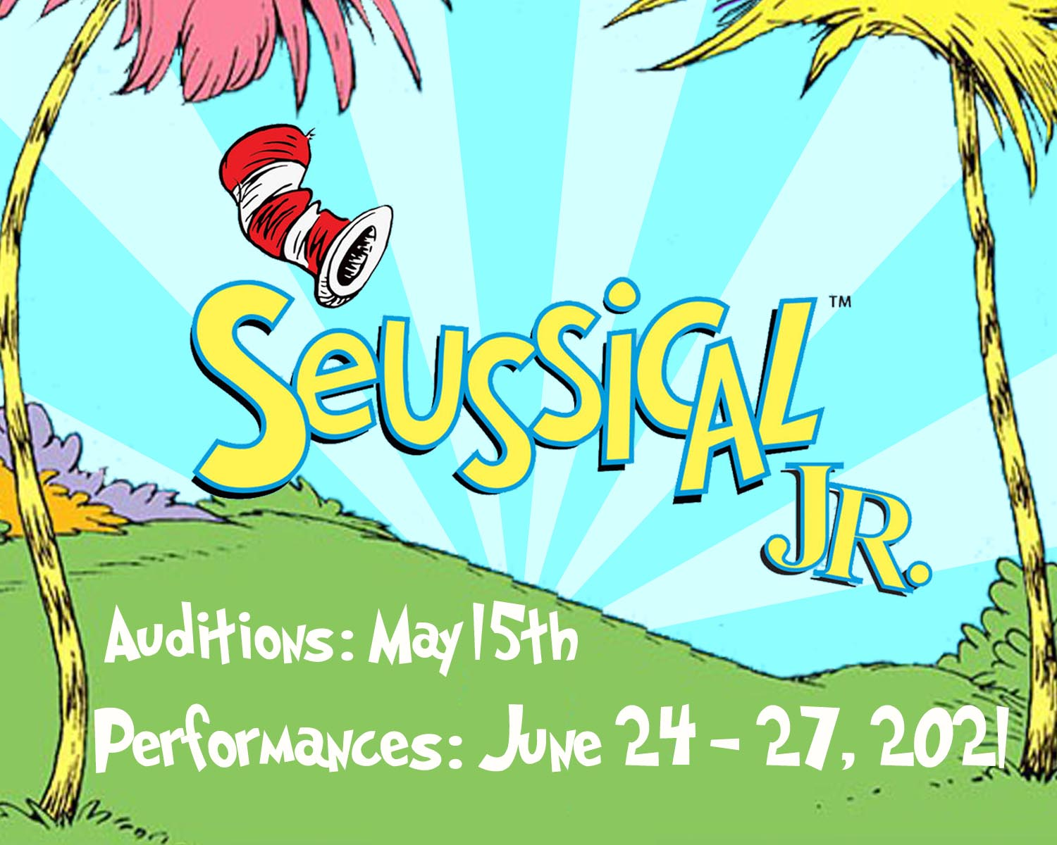 banner seussical w dates